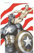 Captain America And Sub-mariner Color Commission - 2011 Art By Remi Dousset