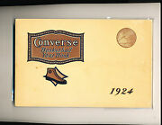 1924 Basketball Converse Yearbook Nm - Clean