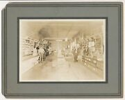 1910and039s California General Store Interior Vintage Cabinet Photo Holsum Bread