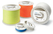 Cortland Micron Fly Line Backing 30 Lb Test Blue - 100 To 2500 Yd Spools
