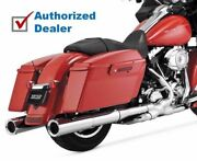 Vance And Hines Hi-output Slip On Mufflers Exhaust 1995-2016 Harley Touring 16455