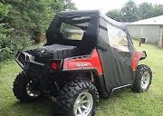 Doors And Rear Window Combo For Polaris Rzr 570, 800, 800s, And 900 - Soft Material