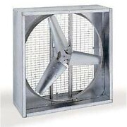 48 Agricultural Exhaust Fan - 18800 Cfm - 1 Hp - 230/460v - 3ph - Direct Drive