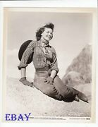 Dorothy Malone Sexy Cowgirl Vintage Photo The Nevadan