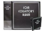 Case Of 12 New Bcw Black Coin Collector's 3 D-ring Albums Binders Books