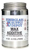 Wax Additive - 4 Oz Surfacing Agent For Use With Gelcoat And Polyester Resins