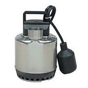 3/8 Submersible Sump Pump - 0.33hp 115v 2.9 Amps Plug No Switch