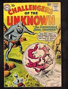 Challengers Of The Unknown 16 Bob Brown Art /metal Creature 1960 4.5 Wh