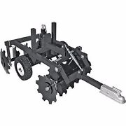 Atv Disk Harrow - 33 Inch Wide - Notched Disk Type - Commercial Duty