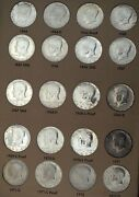 1964-2006 Kennedy Half Dollar Set Complete With Proofs 138 Coins B7476