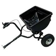 Broadcast Spreader - 85 Lbs Capacity - Tow Behind - 14200 Sq Ft Coverage