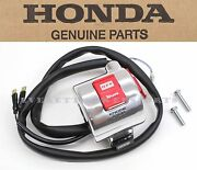New Genuine Honda Right Start Stop Switch Vt600c Cd Shadow Vlx See Notes S168
