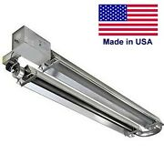 Natural Gas Heater U Tube Commercial 50000 To 175000 Btu - 20ft To 40ft - Csa