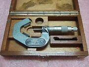 Tesa 20-35mm Micrometer For 3 Sides/walls/dents Rare As33w/nm Swiss Made