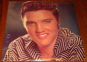 Elvis Presley Commemorative Issue The Top Ten Hits 2-lps Still Sealed Rca
