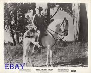 Gaston Sands Sexy Cowboy Vintage Photo Bullet For Billy The Kid
