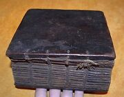 Antique Ethiopian Coptic Christian Manuscript Hand Written Vellum Bible Codex 29