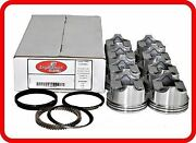 70-76 Pontiac/chevy/gm 455 7.5l Ohv V8 8flat-top Pistons And Cast Rings