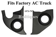1973-1979 Chevy / Gmc Truck Kick Panels W/ Ac---no Speakers Installed