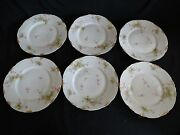 Theodore Haviland Limoges France 6 Plates 8 Schleiger 836d For Mo Glass Co