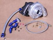 T3/t4 T04e Turb0charger Stage 3 Turbo+oil Line Honda Civic 1999-2000 Si B16a1