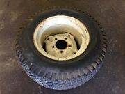 Used Case Ingersoll Rim And Tire Assembly C10263 For Lawn Yard Garden Tractor