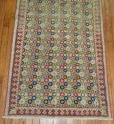 Vintage Decorative Turkish Art Deco Rug Size 3and039x10and0394and039and039