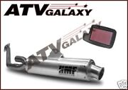 Arctic Cat 650 V2 Twin Hmf Exhaust Pipe And Kn Air Filter