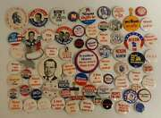 Huge Collection Of 74 Different Nixon Pins And Buttons
