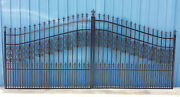 Driveway Gate 1013 11and039 Or 12and039 Wd Inc Post Pkg Steel Home Security Vets Discount