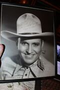 1940's Gene Autry Large Personalized Signed Photograph To Director William Berke