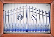 Driveway Gate 1082 12and039 Wd Steel Iron Home Security On Sale Veterans Discount