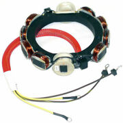 Johnson Evinrude 1973-1977 85,115,135 And 140hp 4cyl 12 Amp Stator 582099 0581303