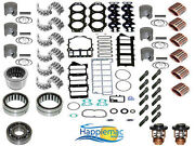 Yamaha 150 175 200 Hp 2.6l Hpdi 90 Degree V6 Powerhead Rebuild Kit Piston Block