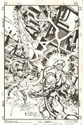 X-51 6 Cover - X-51 And Otomo - 2000 Signed Art By Geoff Isherwood