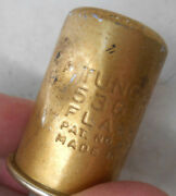 Vintage Original Gold Tung Sol Etched 536 2 Prong 12v Flasher Relay Usa