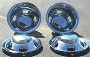 New Chrome Simulators And Centers For Dodge Ram 3500 1-ton Truck Dually Full Set