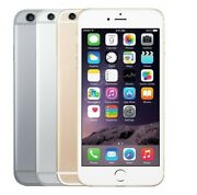 Apple Iphone 6+ Plus-16gb 64gb Gsm Factory Unlocked Gold Gray Silver Very Good