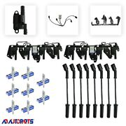 Coil Package 8 Ignition Coils+ 8 Sp Plugs+ 8 Sp Wires+ 2 Brackets+ 2 Harness