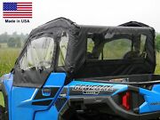 Doors And Rear Window For Polaris General - Puncture Proof - Soft Material