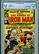 Tales Of Suspence 58 Cbcs 4.0 Silver Age Marvel Comics 1964 2nd Kraven