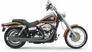 Bassani Black Long 2 Into 1 2-1 Road Rage Exhaust Pipe 2006-2017 Harley Dyna Fxd