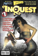 Inquest Magazine Issue 1 Brand New Nm 1995 Mtg Wizardand039s Wotc Amricons