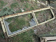 Stripped Windshield Frame Used 75 Wide For 5-ton Military Truck M923 M813