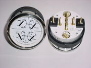 Carver Yachtboat 4-in-1 Multi Function White Sst Gaugetrimvoltoiltempnos