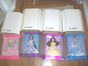 Lot Of 4 Rare Disney Exclusive Classic Doll Collection Alice-ariel-tinkerbelle