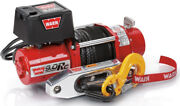 Warn 71550 9.0rc 9000 Lb Ultimate Performance Series Winch 4.8hp Synthetic Rope
