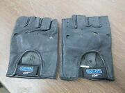 Vintage Nos Oneal Oand039neal Size 9 Medium Fingerless Motorcycle Rider Gloves