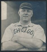 1908 Jack Mccormick Chicago Cubs Trainer Extremely Rare Vintage Baseball Photo
