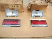 Nos Mopar 1969 Plymouth Fury Station Wagon Tailgate Tail Lamps Left Right Pair